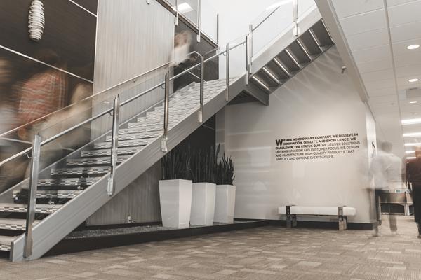 BlenderBottle stairwell