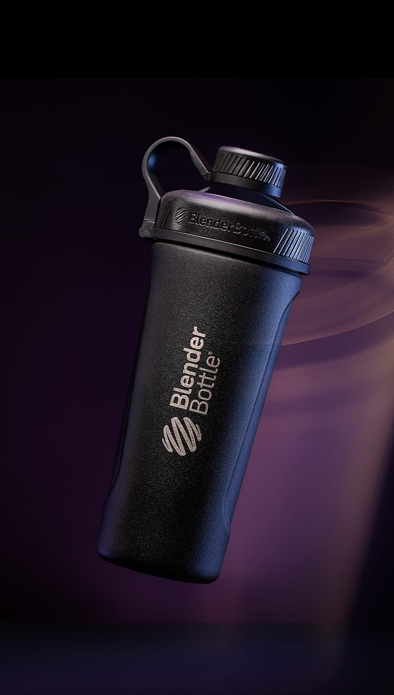 A BlenderBottle Radian ready to be customized with a company logo