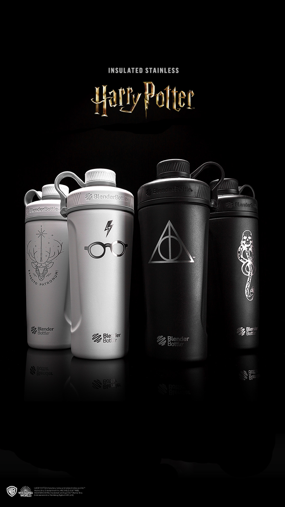 Radian Stainless Steel Bottles with Harry Potter Branding